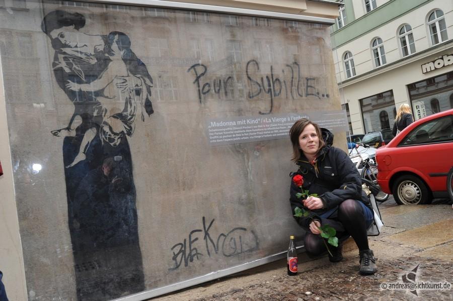 Graffito Von Blek Le Rat In Leipzig Enthüllt Kunstkeim