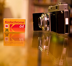 Kodachrome Film, Photo by RawheaD Rex (flickr) CC