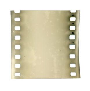 verschleiertes Stück leerer Film