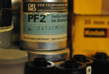 Aluminiumdose ORWO PF2