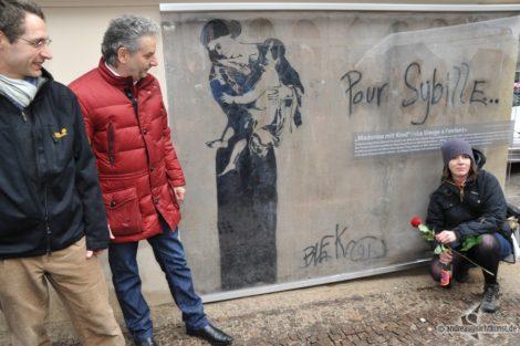 Graffito von Blek le Rat unter Denkmalschutz