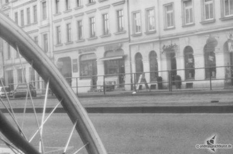 Lochkamera Foto auf Rollfilm 6x9